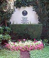 Carl Gustav Carus' Grab auf dem Trinitatisfriedhof in Dresden (Quelle: Wikimedia)