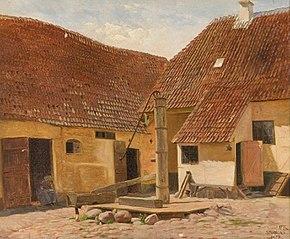 En gammel gård i Stubbekøbing