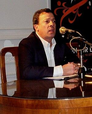 Carlos Alvarado-Larroucau - Alvarado-Larroucau portrait, ca 2007, at Tucumán.