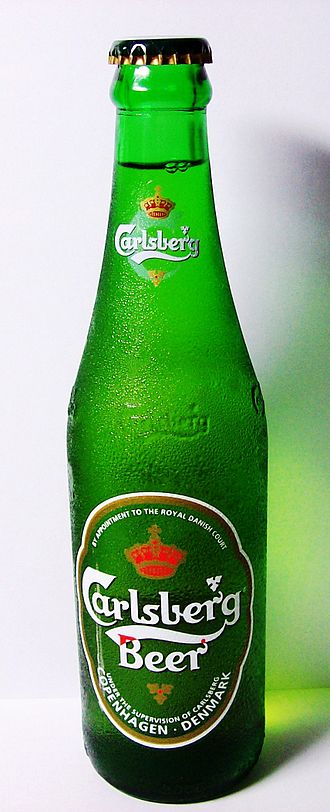 Beer in Denmark - Carlsberg beer