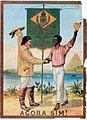Cartaz de 1888 comemorativo a Abolição da Escravidão no Brasil.jpg