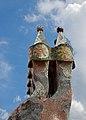 Casa Batllo Chimneys 9 (5840540298).jpg
