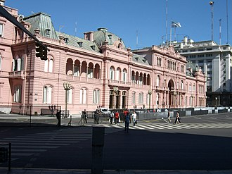 Government of Argentina - The Casa Rosada, official residence of the President of Argentina