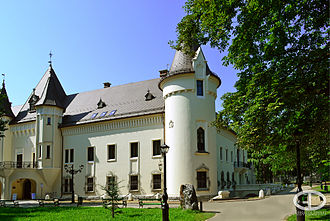 Carei - The Károlyi castle in Carei