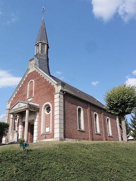 Castres (Aisne) église Saint-Quentin