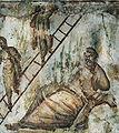 Catacomb Via Latina Jacob ladder.jpg