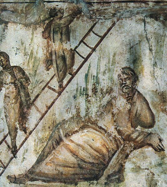 File:Catacomb Via Latina Jacob ladder.jpg