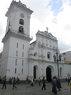 Caracas Cathedral Church in Caracas, Venezuela