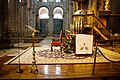 Catedral de Santiago de Compostela, lugar del padre para dar la misa.jpg