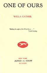 Willa Cather: One of ours
