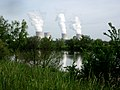 Cattenom Nuclear Power Plant, seen from the Meuse bike path near the French-German border. - panoramio.jpg