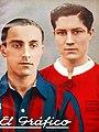 Cavadini (San Lorenzo) y Erico (Independiente) - El Gráfico 789.jpg