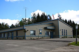 Cayamant, Quebec - Cayamant Town Hall