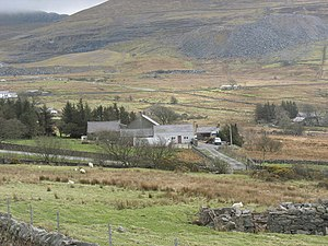 """Agriculture in Wales - Hill farm in a """"Less favoured area"""""""