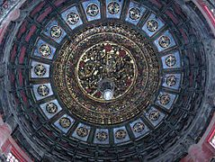 Ceiling of building in Imperial garden - Forbidden City.jpg