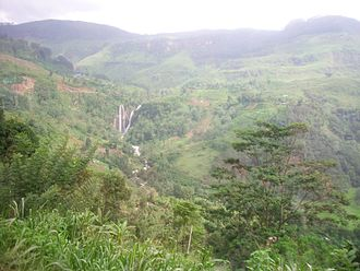 Rajasinha II of Kandy - The rugged terrain of the Kandyan kingdom, an area now largely within the modern Central Province