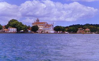 Itaparica Island - Image: Centro itaparica ba