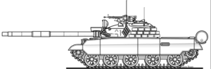 Chonma-ho - A conceptual drawing of the Ch'ŏnma-ho, with several upgrades, including the light explosive reactive armour.