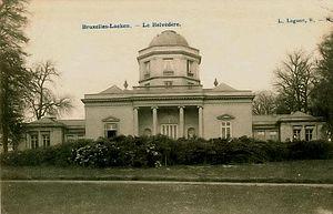 Belvédère Castle - Belvédère Castle in 1900
