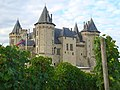 Château de Saumur and its vineyards.JPG