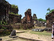 My Son is the site of the largest collection of Cham ruins.