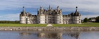 Le château de Chambord (Centre-Val de Loire). (définition réelle 15605×6256)