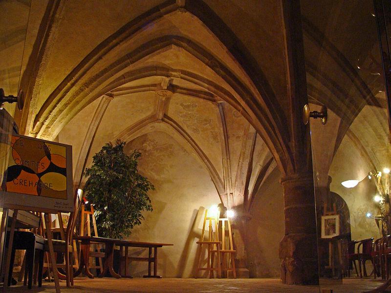 Chapelle des comtes de Créhange à Saint-Avold (Moselle)