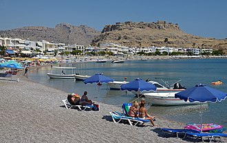 Charaki - Image: Charaki Rhodes Greece P