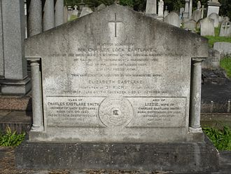 Charles Lock Eastlake - Funerary monument, Kensal Green Cemetery, London.
