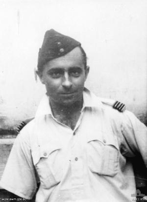 Charles Crombie - Flight Lieutenant Charles Crombie c.1943