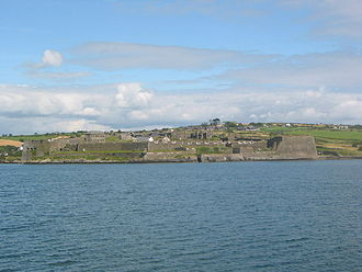Juan del Águila - View of the Charles Fort built on the site of Fort Ringcurran.