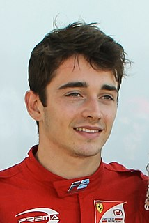 Charles Leclerc (racing driver) Monegasque racing driver