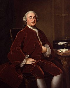 Charles Wyndham, 2nd Earl of Egremont by William Hoare lowres color.jpg
