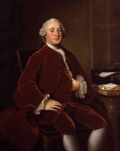 Charles Wyndham, 2nd Earl of Egremont by William Hoare lowres color