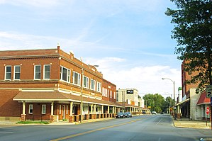 Charleston, Missouri - Main Street