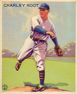Charlie Root American baseball player and coach
