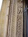 Charlieu (Loire, Fr) l'abbaye, detail du portail.JPG