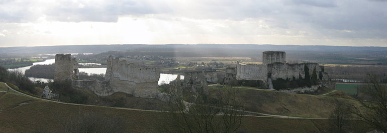 Château Gaillard in Normandy