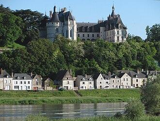 Château de Chaumont - Château de Chaumont stands above the River Loire.
