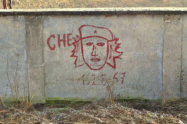 Граффити в Гожуве, Польша
