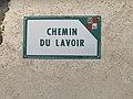 Chemin du Lavoir (Beynost) - plaque de rue.jpg