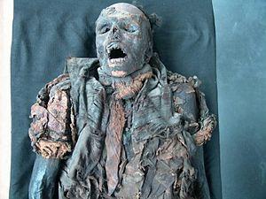 Saxon Museum of Industry - Chemnitz Tar Mummy