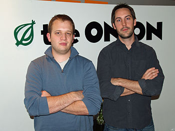 The Onion's Editorial Manager Chet Clem and Pr...