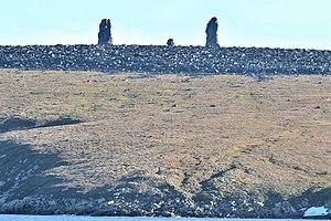 Medvezhyi Islands - Image: Chetyrokhstolbovoy 2 2014 08 22