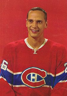 Jacques Laperrière Canadian ice hockey defenceman