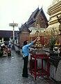 Chiang Mai-26-Wat Phra Dhat Doi Suthep-Glaeubiger-Buddha-1976-gje.jpg