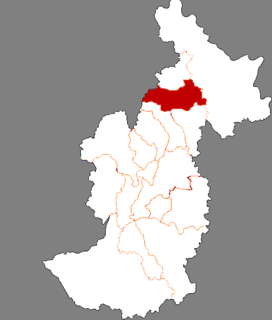 Tangwanghe District District in Heilongjiang, Peoples Republic of China