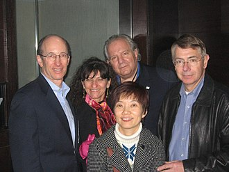 Bob Agee - David Grossman, Judit Deilinger, Ted Samaras, Bob Agee, Lilly Luo (China Star principal)