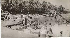 History of Chittagong - US Navy sailors in Chittagong, 1944