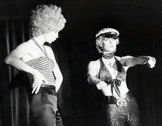 Wild Side Story - Christer Lindarw and Ulla Jones in Leader of the Pack in Stockholm 1976